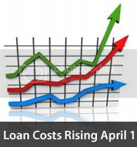 ConformingLoanPricingRisingApril1st Loan Costs Increasing April 1, 2011