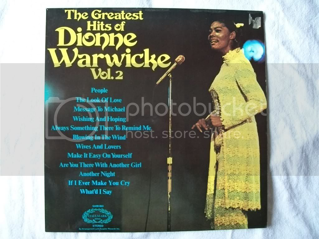 Dionne Warwicke - The Greatest Hits Of Dionne Warwicke Vol 2