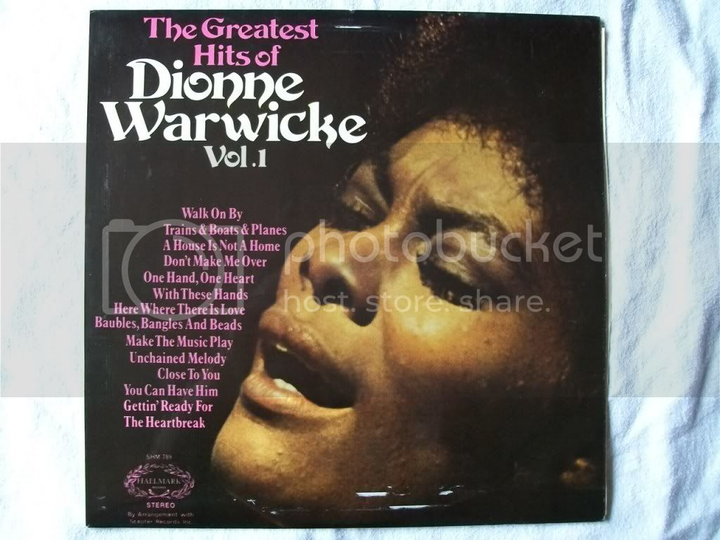 Dionne Warwicke - Greatest Hits Of Dionne Warwicke Vol 1