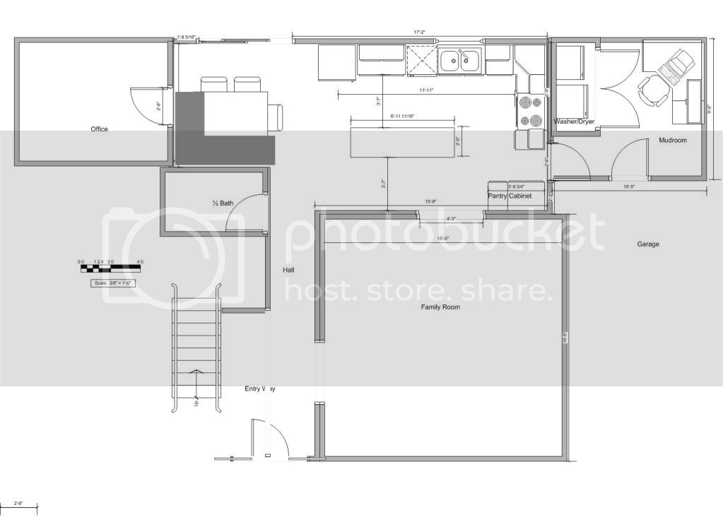 New Kitchen Layout